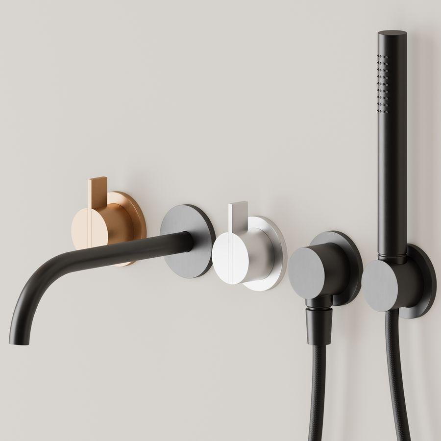 Zestaw do kąpieli Piet Boon royalty-free 3d model - Preview no. 2