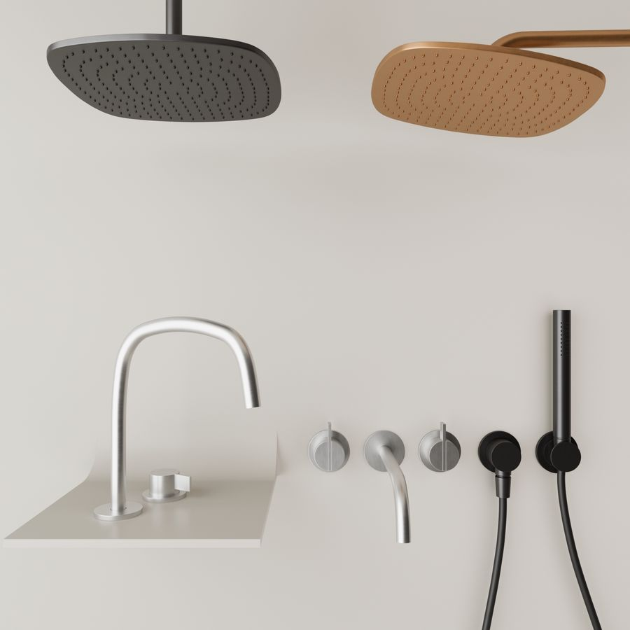 Zestaw do kąpieli Piet Boon royalty-free 3d model - Preview no. 1