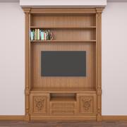 テレビのワードローブ 3d model