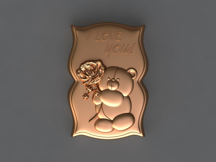 Niedźwiedź royalty-free 3d model - Preview no. 1