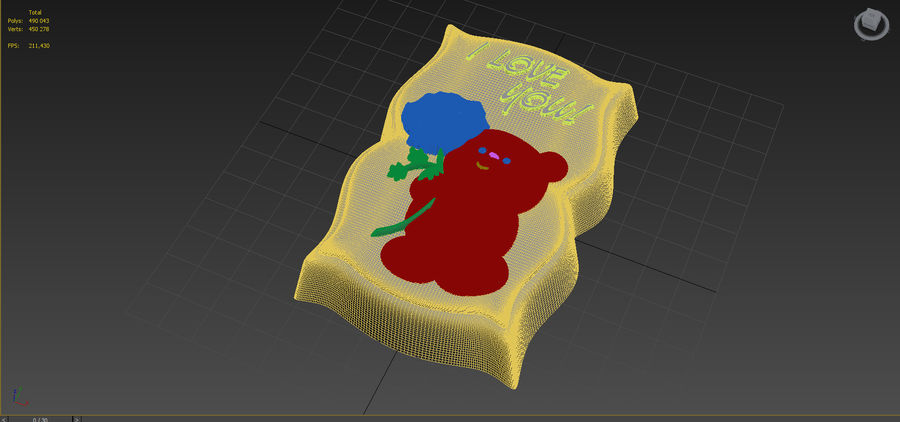 Beer royalty-free 3d model - Preview no. 12