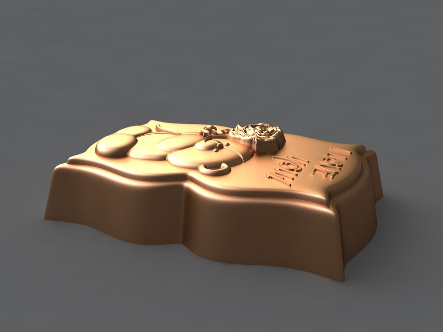 нести royalty-free 3d model - Preview no. 4