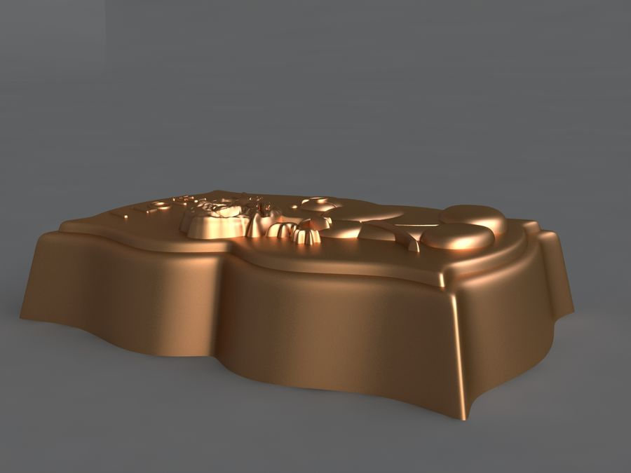 нести royalty-free 3d model - Preview no. 7