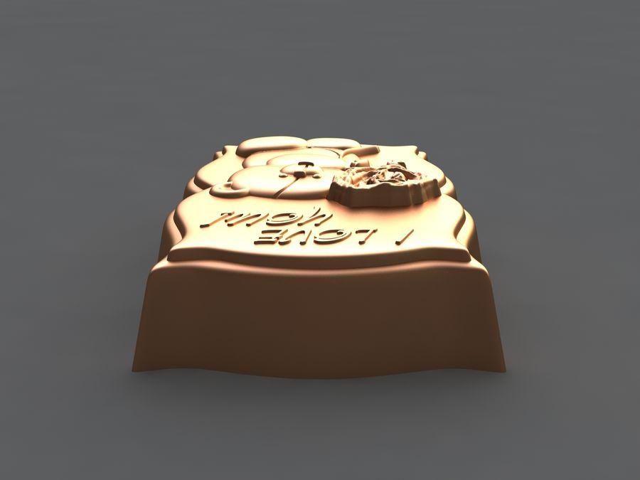 Niedźwiedź royalty-free 3d model - Preview no. 9