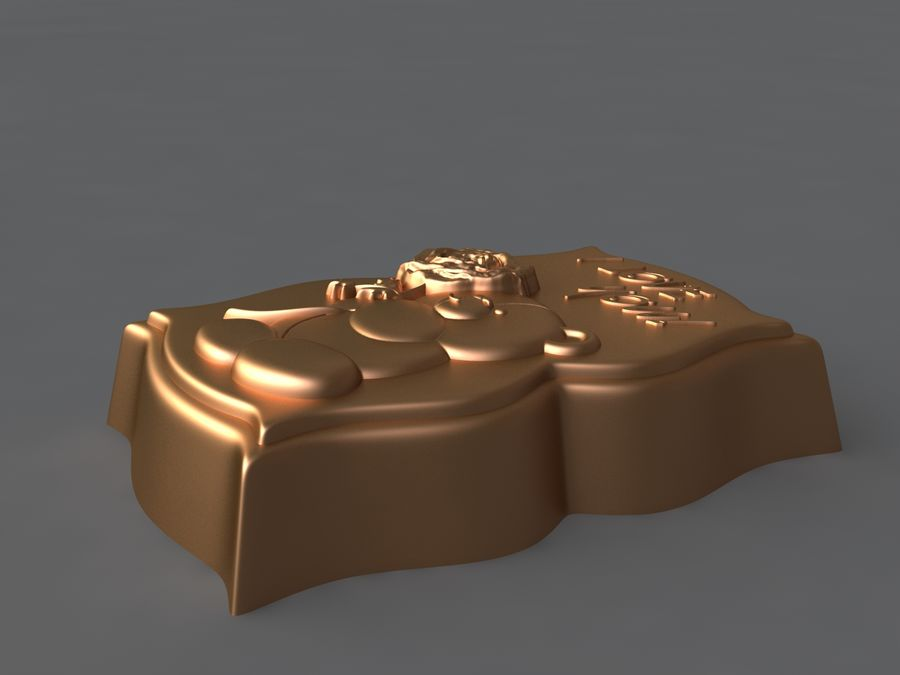 нести royalty-free 3d model - Preview no. 8