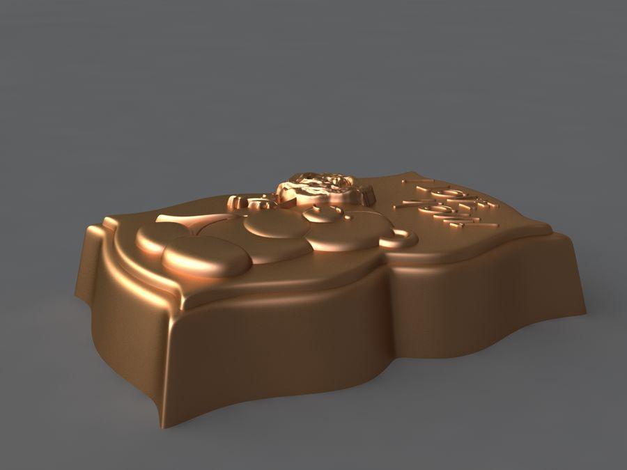 Niedźwiedź royalty-free 3d model - Preview no. 8