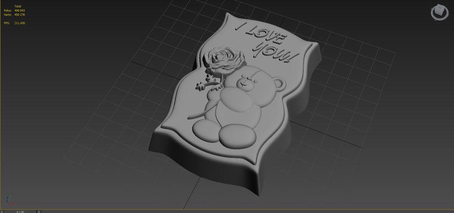Niedźwiedź royalty-free 3d model - Preview no. 11