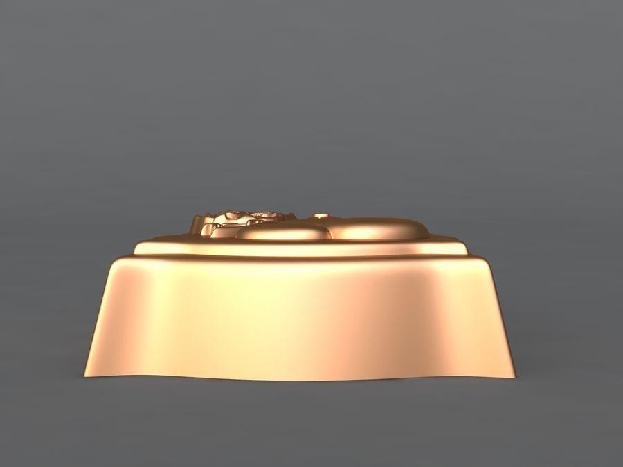 Niedźwiedź royalty-free 3d model - Preview no. 6