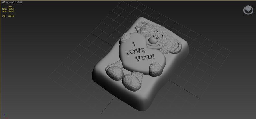 Niedźwiedź royalty-free 3d model - Preview no. 12