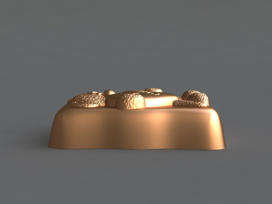 нести royalty-free 3d model - Preview no. 5