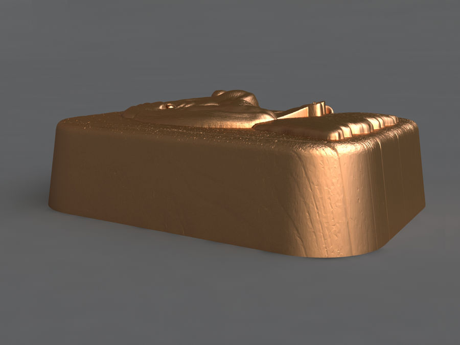 Dog royalty-free 3d model - Preview no. 8