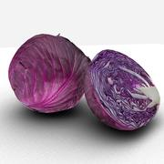 Red cabbage 3d model