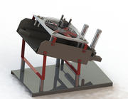 Strong wind removal machine 3d model