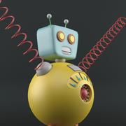 Robot Co 3d model
