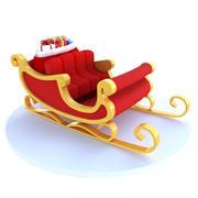 Санта-сани 3d model