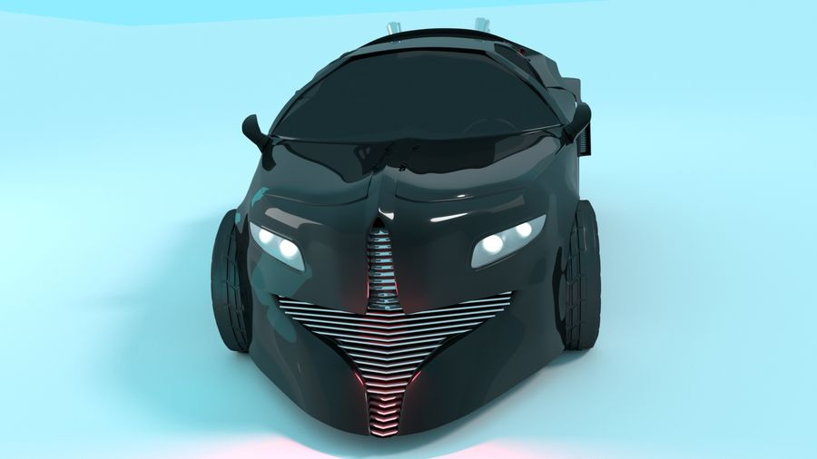 Concept Car royalty-free 3d model - Preview no. 5