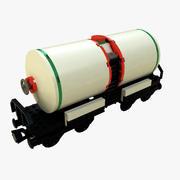 LEGO Train Tanker 3d model
