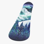 Snowboard Jones 3d model