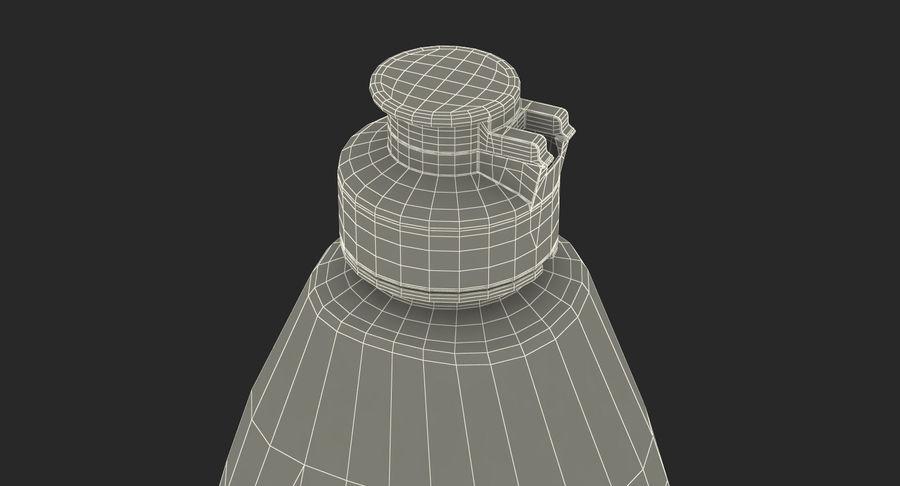 Empty Dishwashing Bottle royalty-free 3d model - Preview no. 17