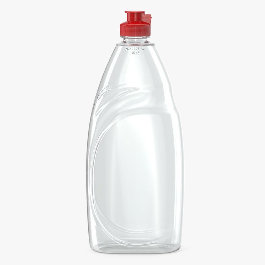 Empty Dishwashing Bottle royalty-free 3d model - Preview no. 1