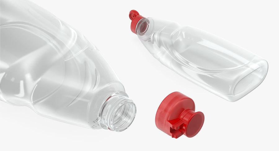 Empty Dishwashing Bottle royalty-free 3d model - Preview no. 8
