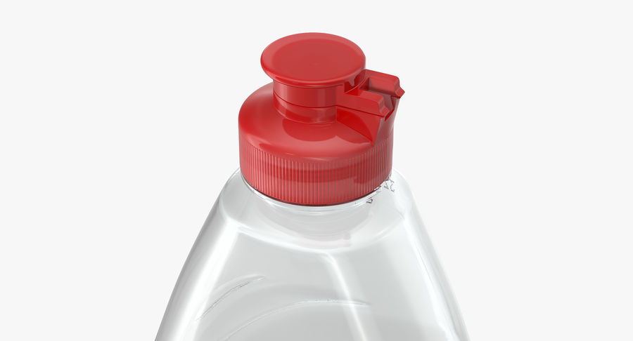 Empty Dishwashing Bottle royalty-free 3d model - Preview no. 5