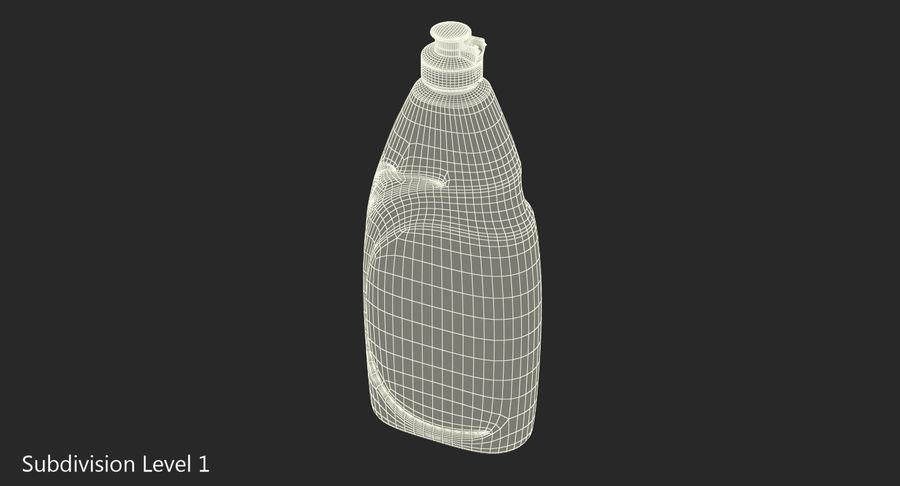 Empty Dishwashing Bottle royalty-free 3d model - Preview no. 10