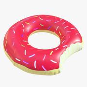 Ciambella giocattolo piscina 05 3d model