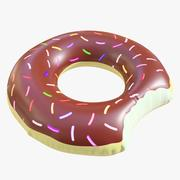 pool toy doughnut 09 3d model