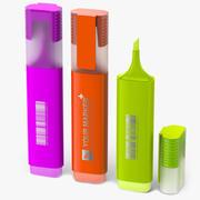 Textmarker Marker-fluoreszierend 3d model