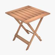 折りたたみテーブル 3d model