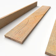 PBR Wooden Plank 02 3d model