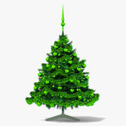 Green Christmas Tree 3d model