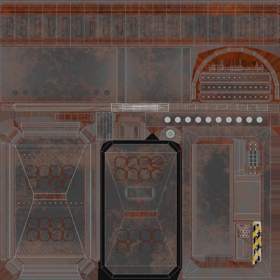 陣地壕 royalty-free 3d model - Preview no. 53