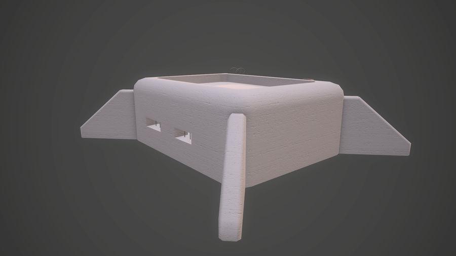 陣地壕 royalty-free 3d model - Preview no. 22