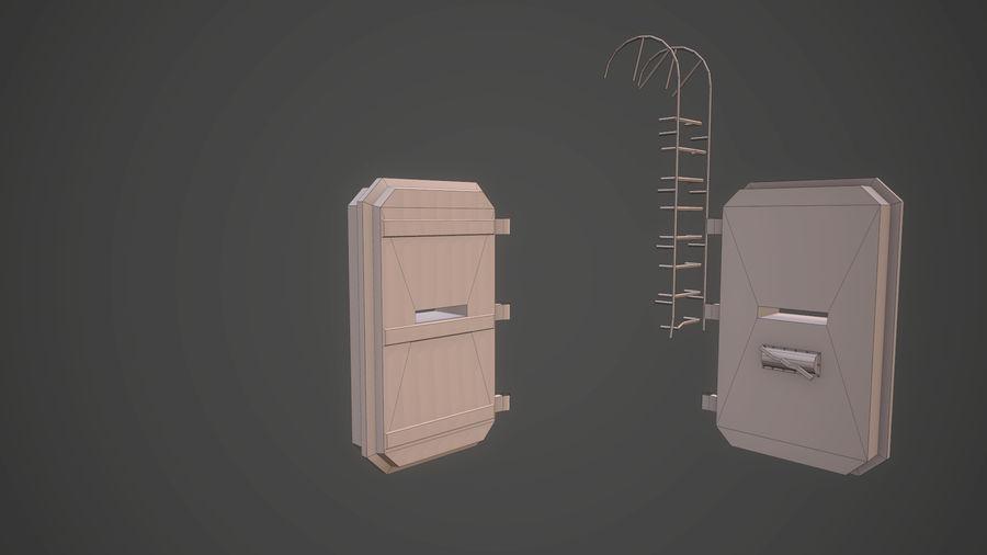 陣地壕 royalty-free 3d model - Preview no. 18
