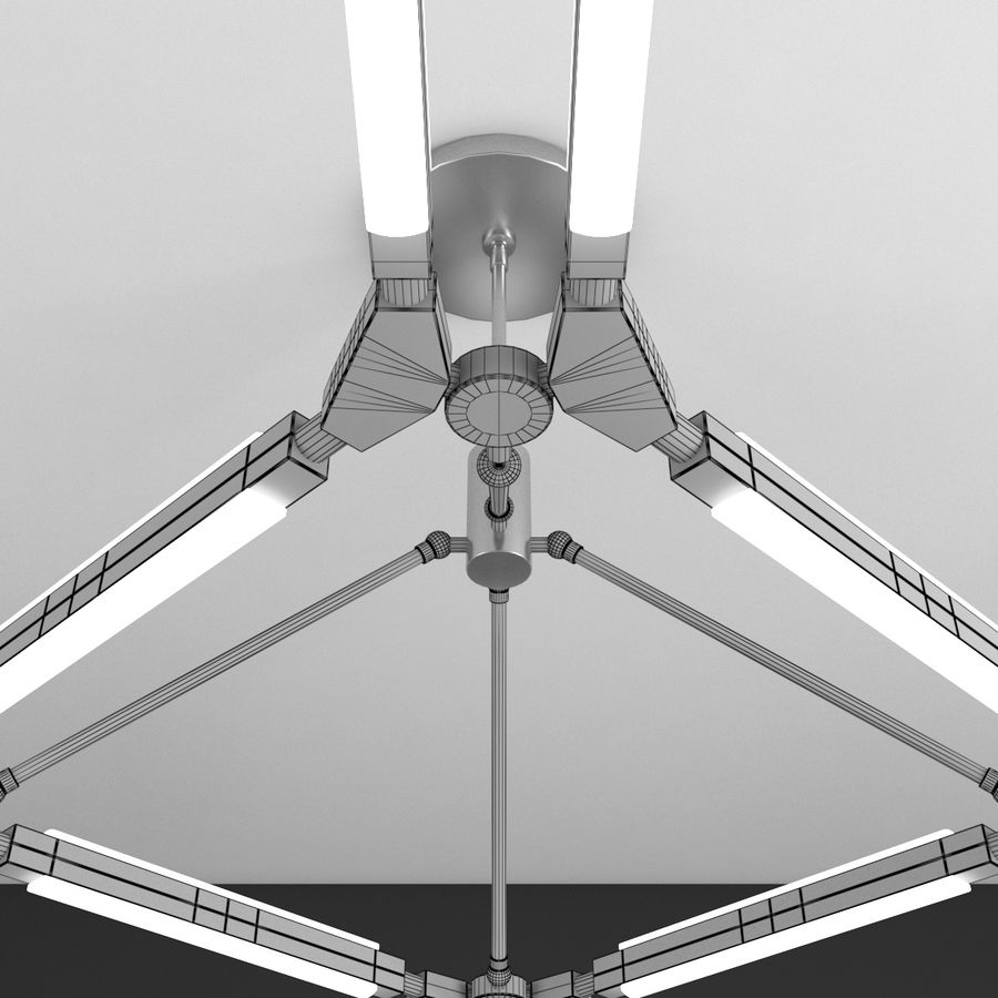 PELLE Pris Lampensammlung royalty-free 3d model - Preview no. 13