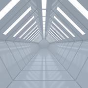 Sci fi corridor_1 modelo 3d