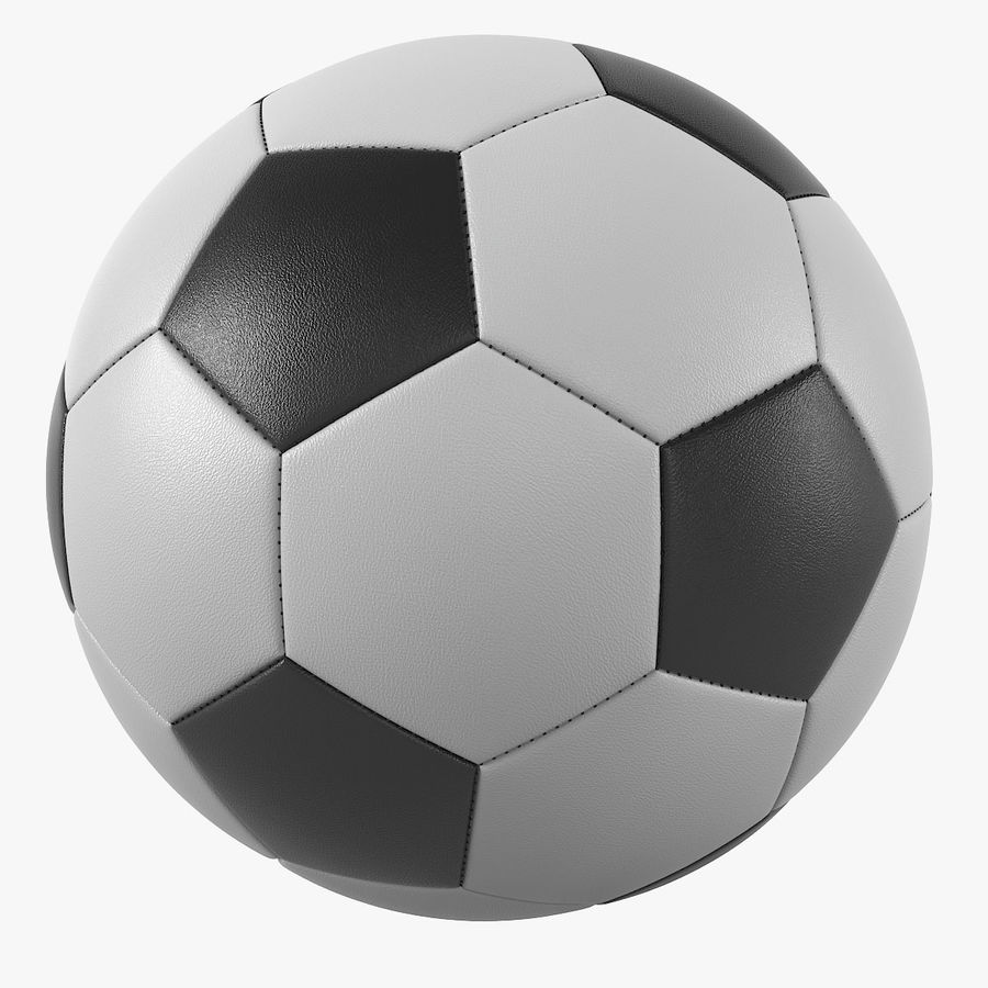 Soccer Ball royalty-free 3d model - Preview no. 1