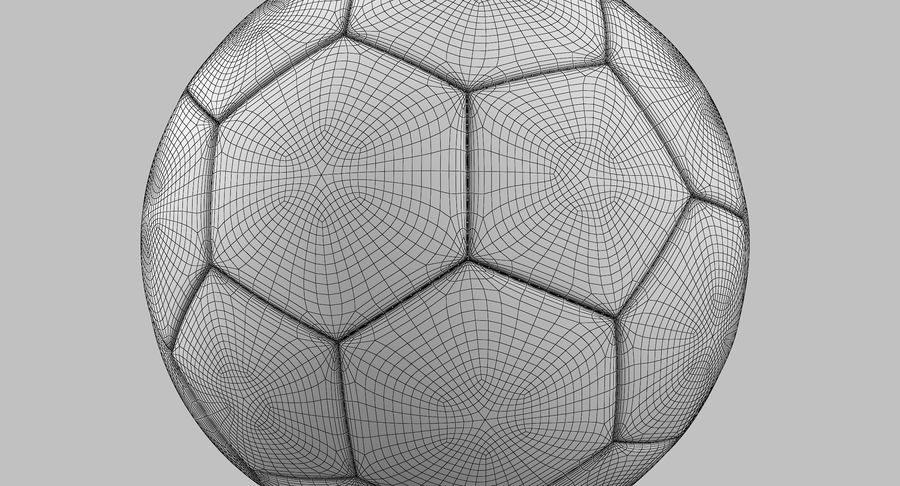 Soccer Ball royalty-free 3d model - Preview no. 13