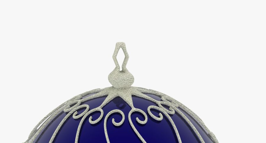 Christmas Ball royalty-free 3d model - Preview no. 6