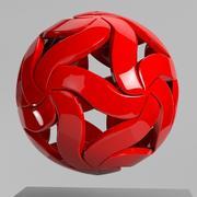 Стильная Современная Сфера 3d model