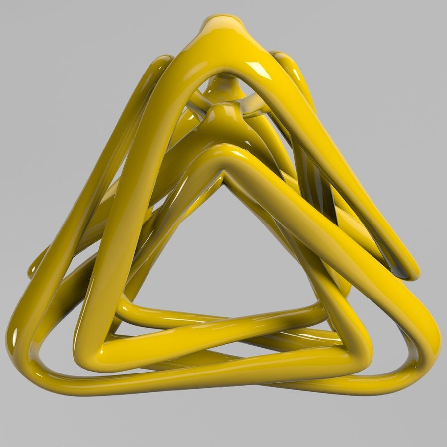 Pyramid model royalty-free 3d model - Preview no. 1