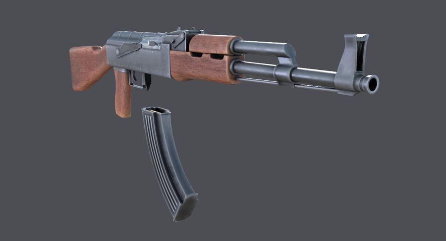 AK-47 royalty-free 3d model - Preview no. 23
