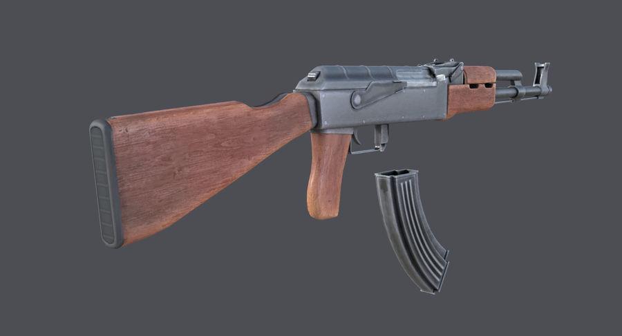 AK-47 royalty-free 3d model - Preview no. 9