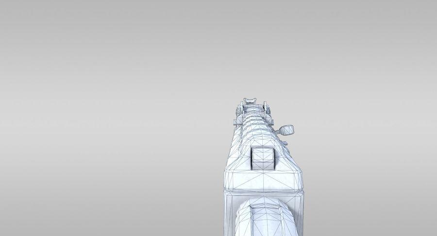 AK-47 royalty-free 3d model - Preview no. 16