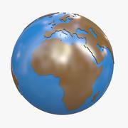 Terra animata 3d model