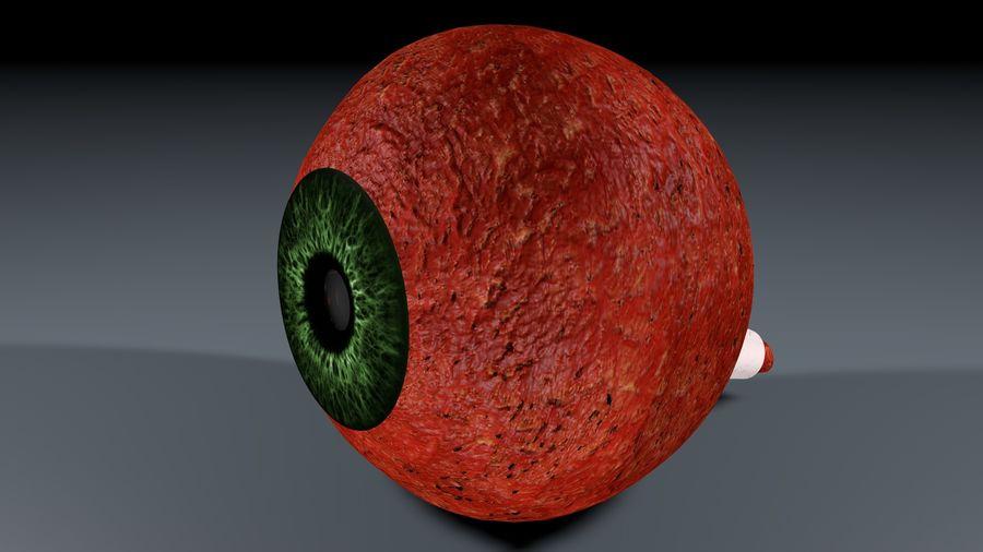 Анатомия человеческого глаза royalty-free 3d model - Preview no. 2