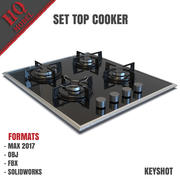 Ustaw Top Cooker 3d model