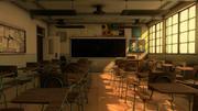 Klasa szkolna 3d model
